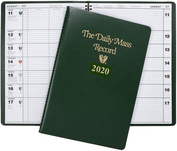 2020 | Daily Mass Record | Advent Thru January 2021 | FM2020DMR