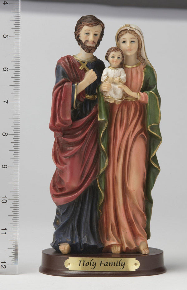 "8"" Holy Family Statue - Hand Painted"