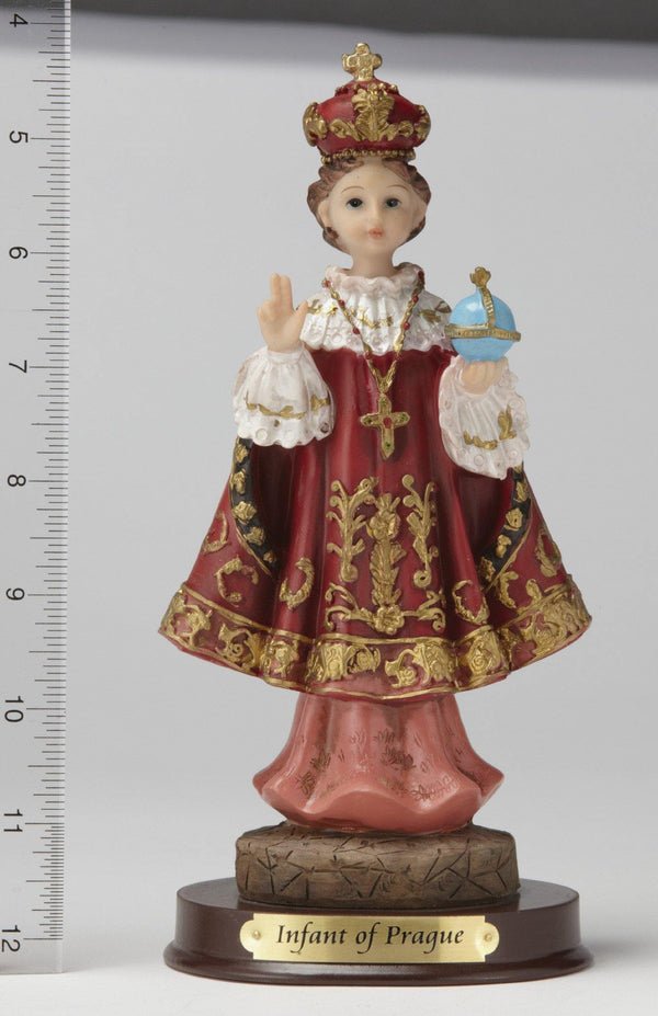 "8"" Infant of Prague Statue - Hand Painted"