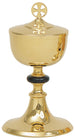 Chalice and Ciborium - Gold Plated with Paten