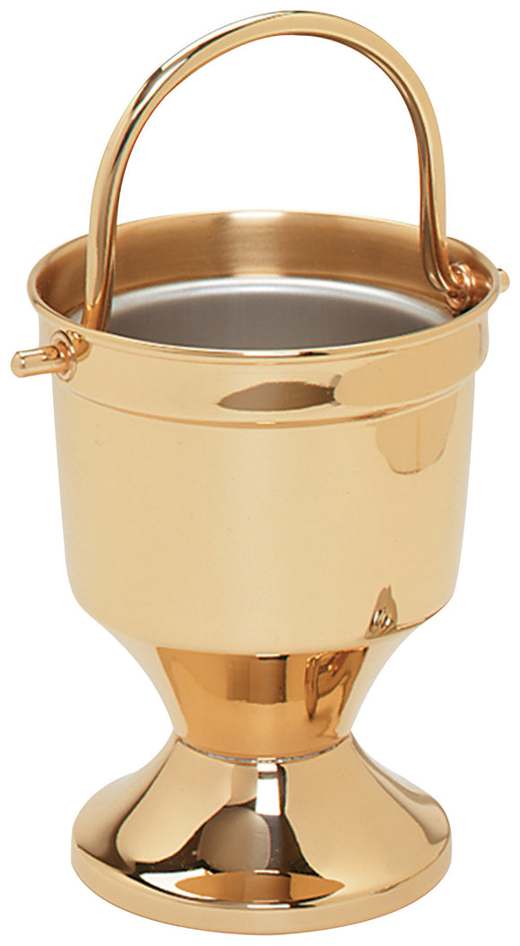 Holy Water Pot w. Sprinkler AND Liner - K164