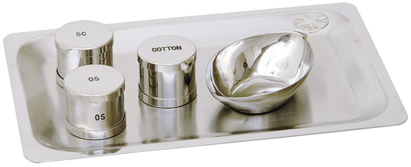 Baptismal Set - Stainless Steel - K333