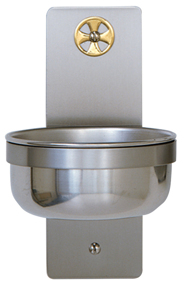 Holy Water Font - Stainless Steel - K349B