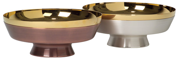 Ciborium Bowl - 24K Gold plated and Silver OR Bronze - K650
