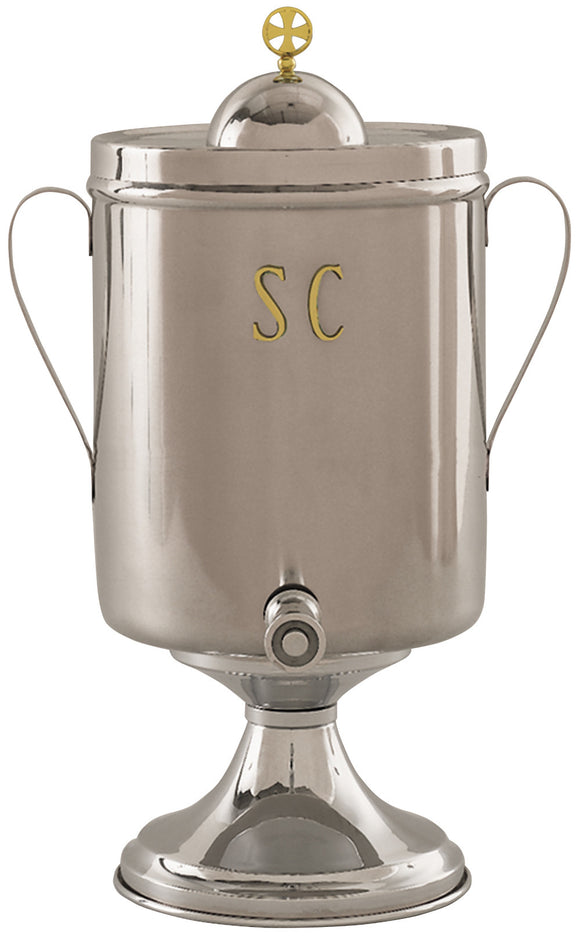Urn for Holy Oil - Stainless Steel - K69