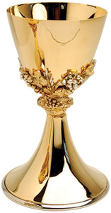 Chalice and Ciborium - Gold Plated