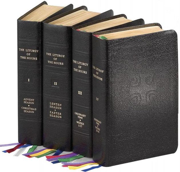 Liturgy of the Hours 4 Volume Set - Full Set  (Leather)
