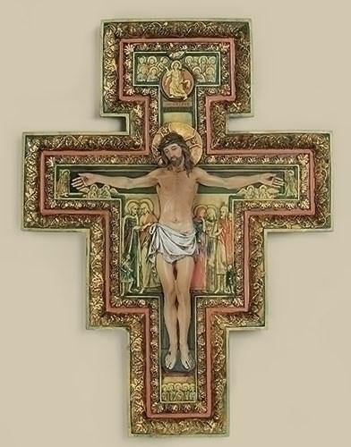 "17.75"" San Damiano Wall Cross"