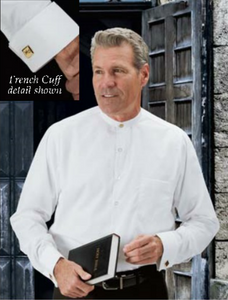 Formal Clerical Shirt - Neckband Collar
