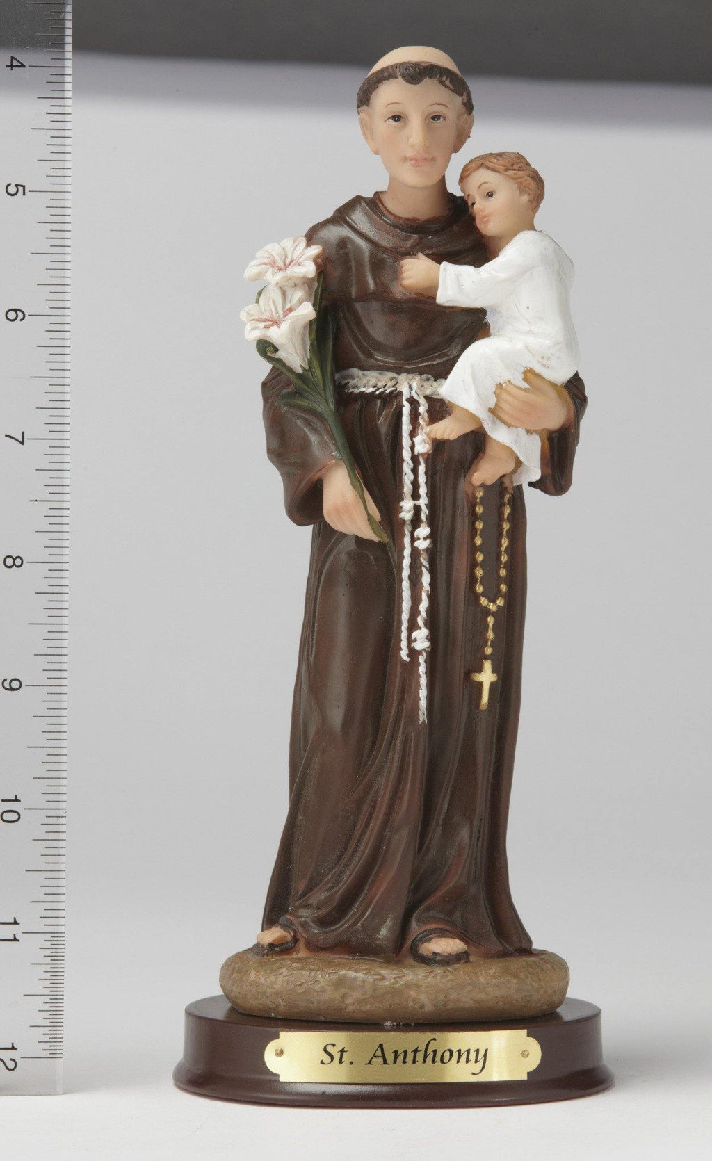 "8"" St. Anthony Statue - Hand Painted"