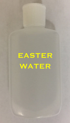 Easter Holy Water Bottle