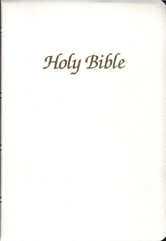 FIRST COMMUNION BIBLE - WHITE OR NAVY (INDEXED OR NON-INDEXED)