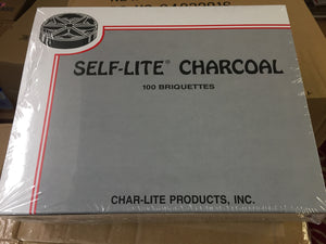 Self Lite Charcoal - 100 Brickets