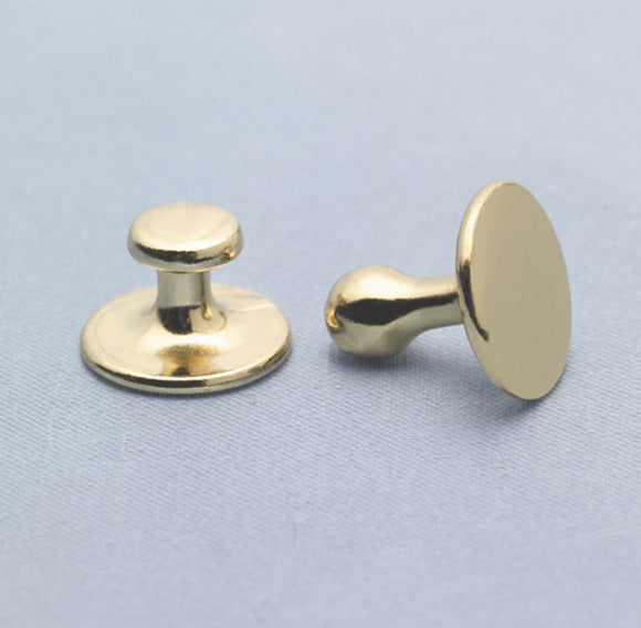 Collar Buttons - Sold in Pairs (1Long 1Short)