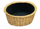 "Round Collection Basket - 4"" Deep 12"" Diam. - with OR without Removable Liner"
