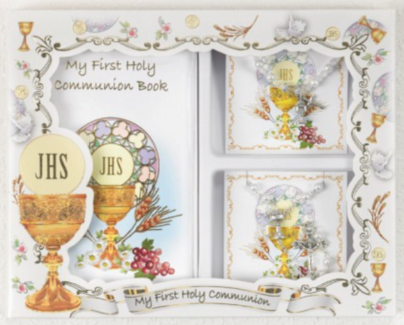 First Communion Gift Set - Girl (LM6104)