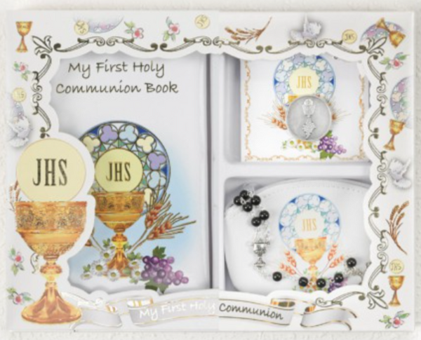 First Communion Gift Set - Boy (LM6204)