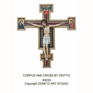 Corpus and Cross by Giotto