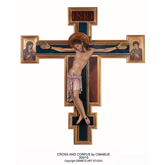 Corpus and Cross by Cimabue