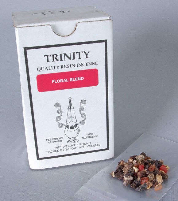 Trinity Incense - Floral Blend - HYPO-ALLERGENIC