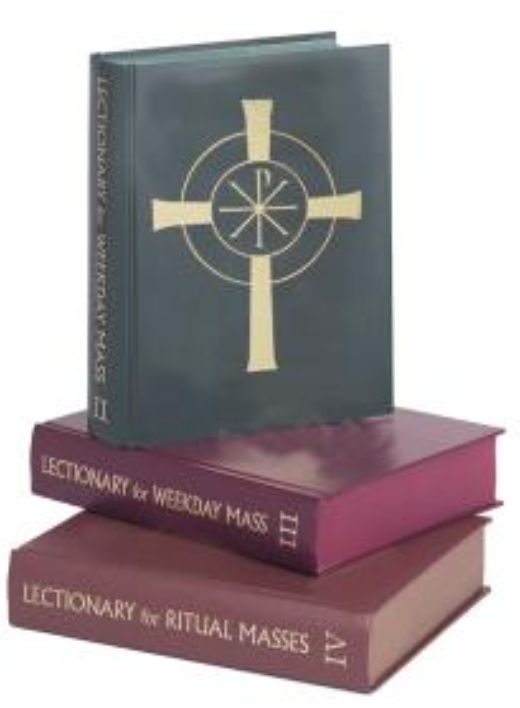 Lectionary for Weekday Mass & Ritual - 3 Volume Set - Chapel Edition