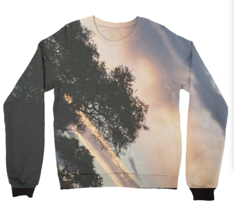 African sunset sweatshirt
