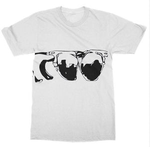 Chest Sunglasses Unisex Tee