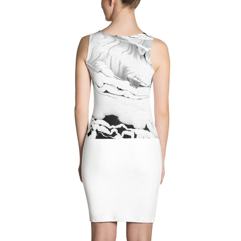 Ink Spills Sublimation Cut & Sew Dress