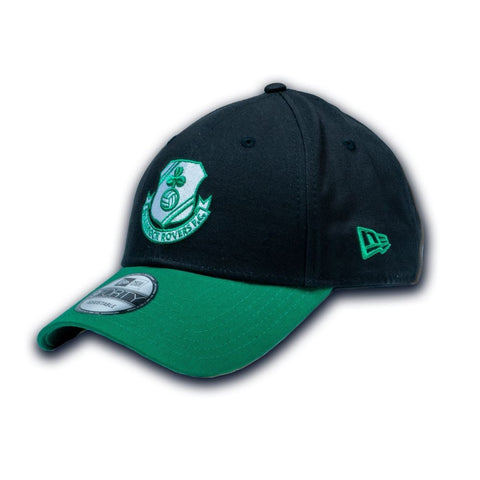 New Era Adjustable Cap - Black and Green