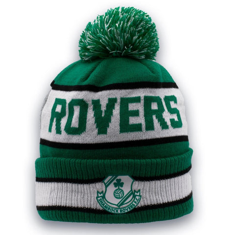 New Era Green and White Bobble Hat