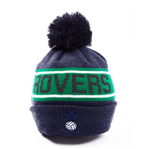 New Era Navy Bobble Hat