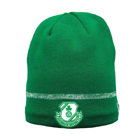 New Era Green Skull Cap