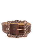 Gold Rush Studded Belt