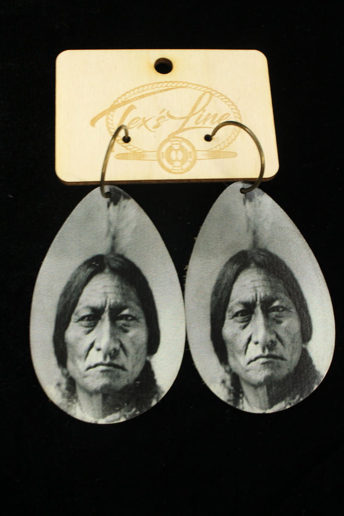 Chief Sitting Bull Earrings