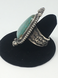 Turquoise and Sterling Ring