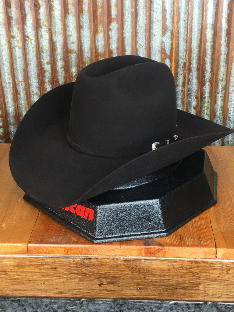 200X BLACK CHERRY FELT HAT