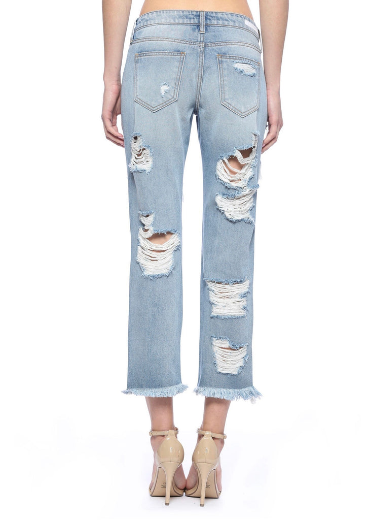 Destroyed Boyfriend Jeans