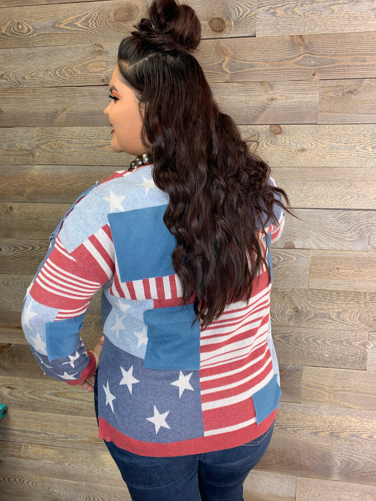 Flag Patch Pullover