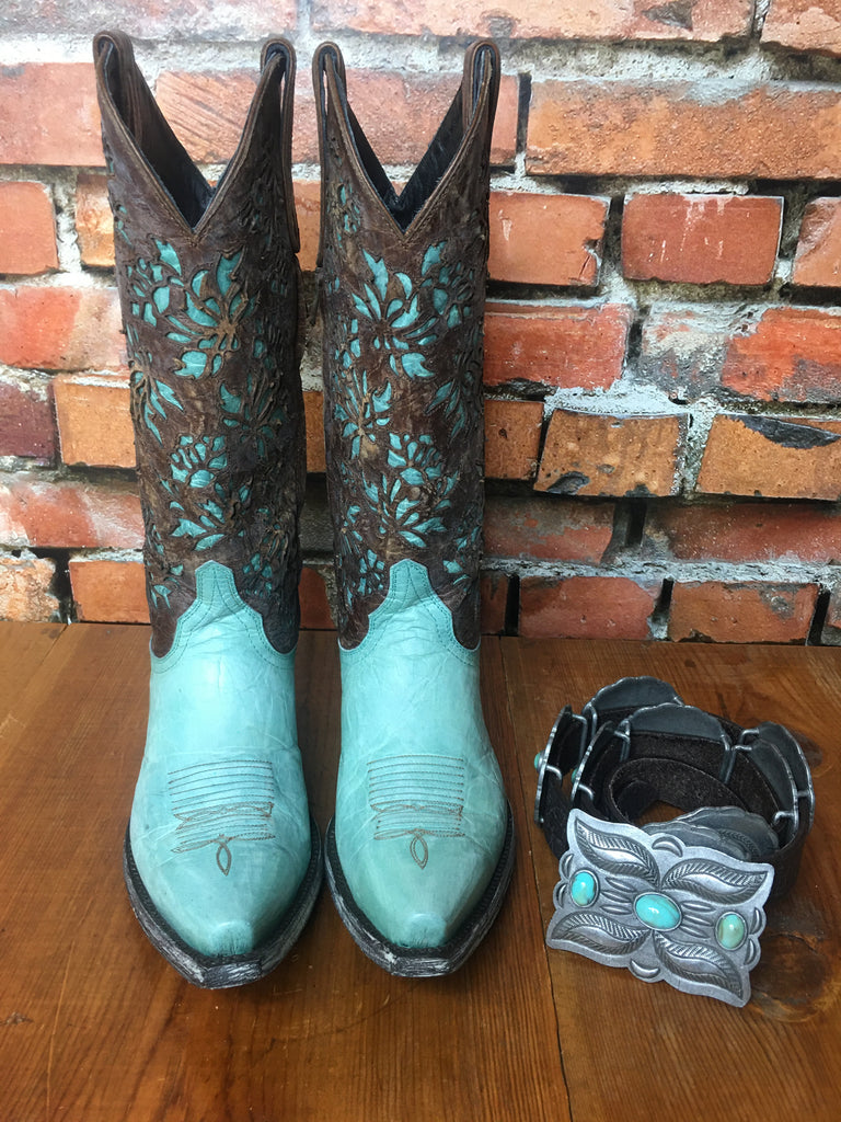 Mary Lou Zipper Boots