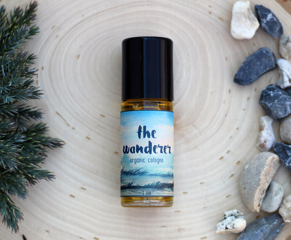New Product Alert! The Wanderer Organic Cologne