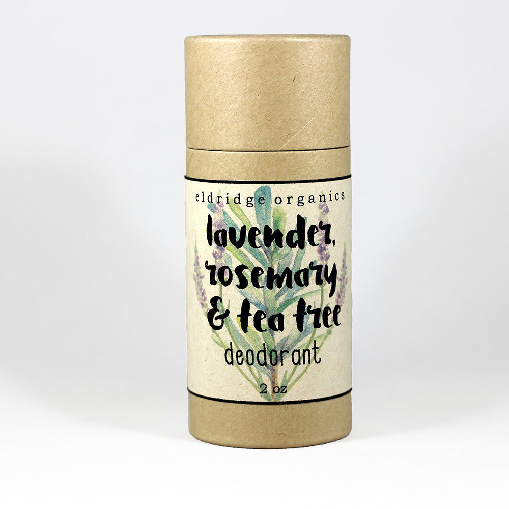 Lavender, Rosemary & Tea Tree Deodorant - Eldridge Organics