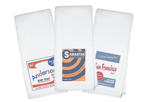 Soap Box Burp Cloths (set of 3) - Retrofit Baby