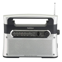 Portable Analog AM/FM/WX Weather Tabletop Radio