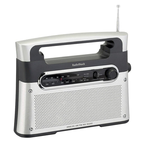 RadioShack AM/FM Weather Tabletop Radio