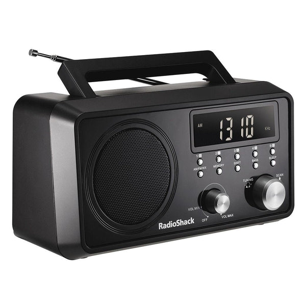 Portable Digital Tuning AM/FM/Weather Band Table Radio