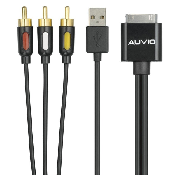 AUVIO iPodаЂаŽ Composite Cable with USB