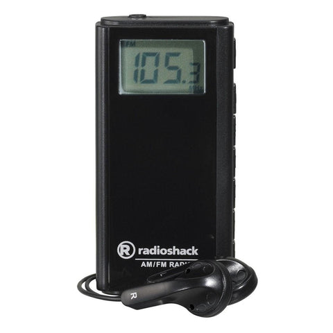 RadioShack AM/FM Digital Mini Pocket Radio
