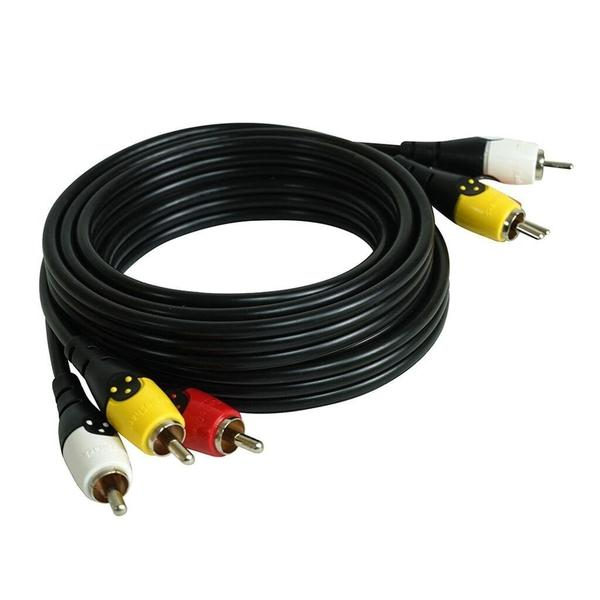 Speaker Cable Radio Shack : 6ft rca stereo audio video cable radioshack ~ Hamham.info Haus und Dekorationen