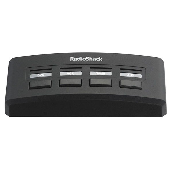 RadioShack 4-Way Audio/Video Selector Switch