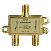 3.0GHz 2-Way Satellite/Broadband Diode Splitter